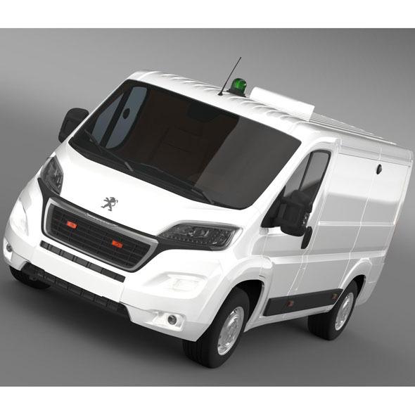 Peugeot Boxer Collection Services 2015 - 3DOcean Item for Sale