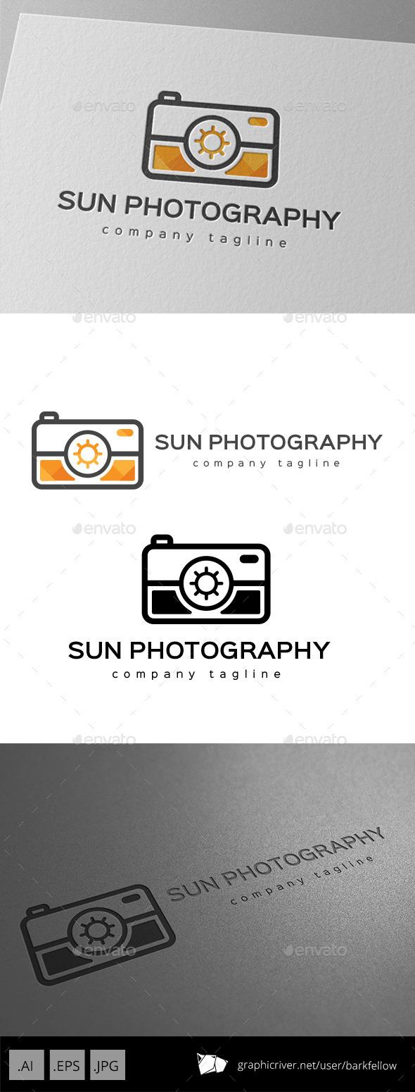 Sun Photography Services Logo - Objects Logo Templates