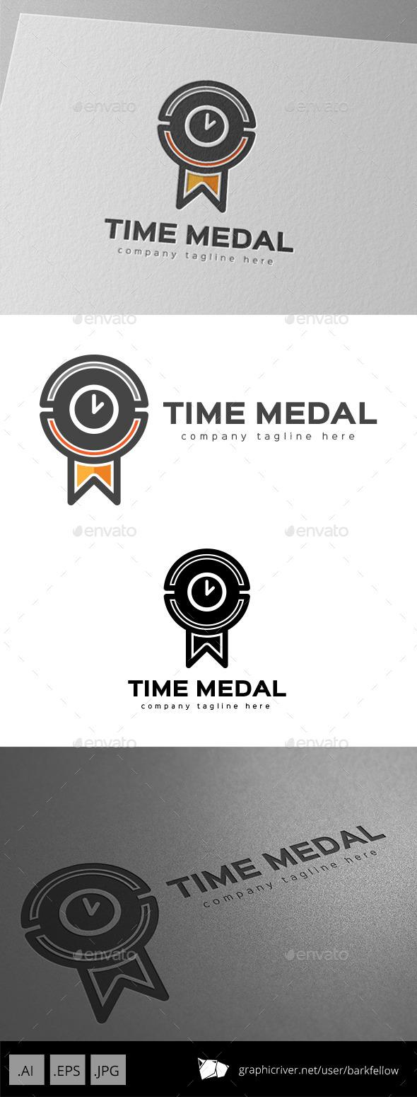 Time Medal Logo Design - Symbols Logo Templates