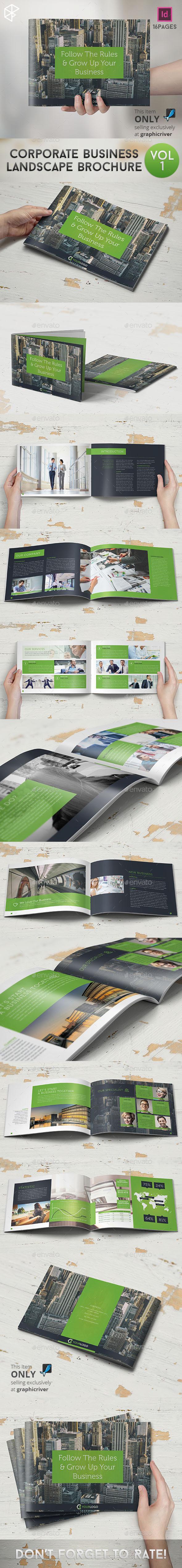 Corporate Business Landscape Brochure - Corporate Brochures