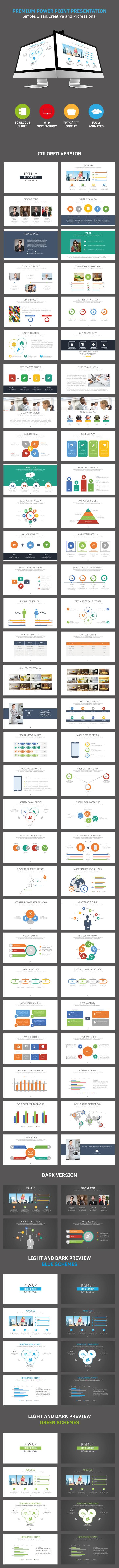 Premium Presentation Template - Miscellaneous PowerPoint Templates