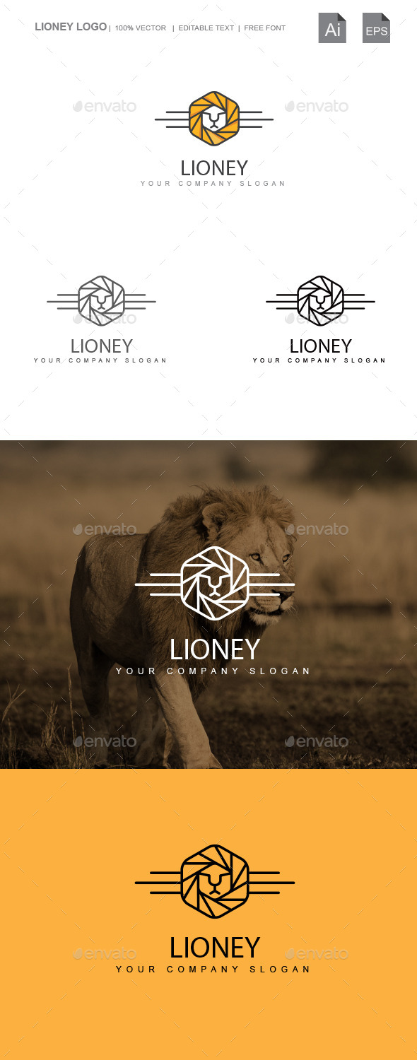 Lioney - Animals Logo Templates