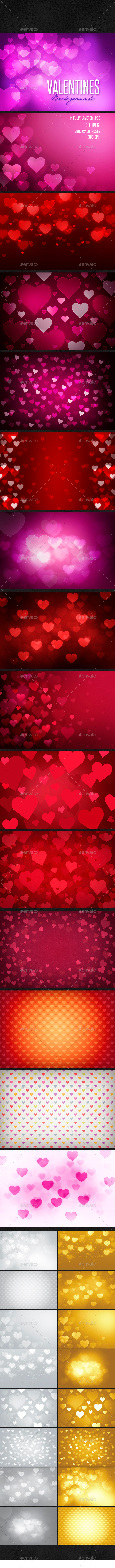 Valentine's Day Background - Backgrounds Graphics