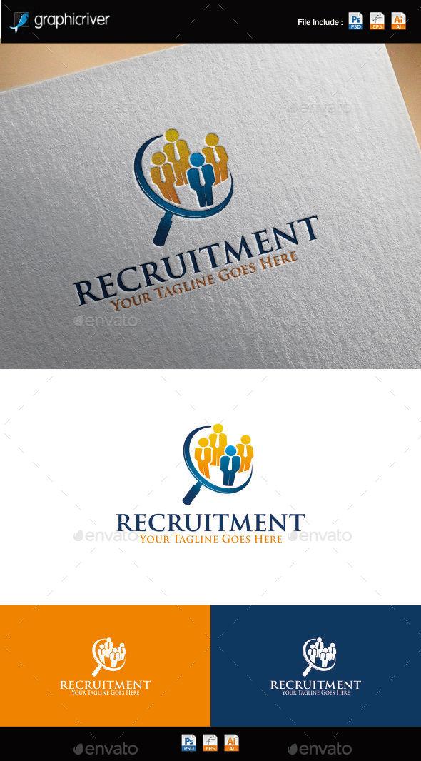 Recruitment Logo - Symbols Logo Templates