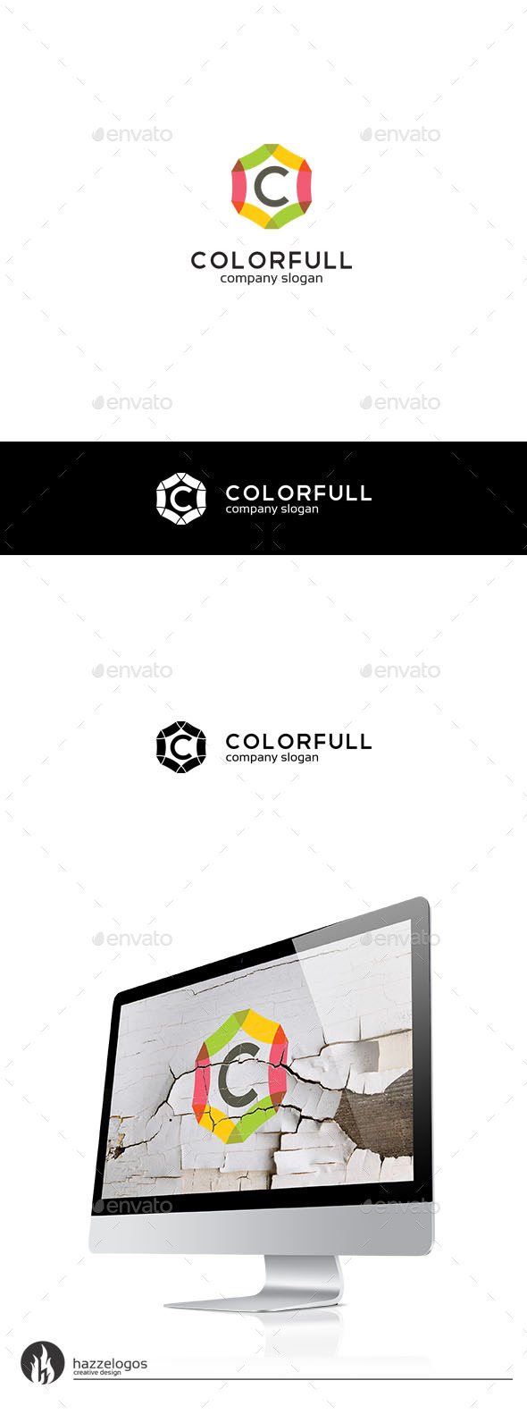 Colorfull Logo - Crests Logo Templates