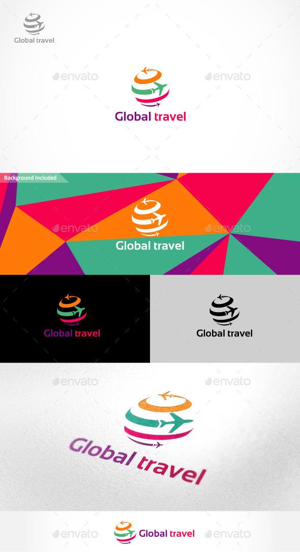 Global Travel Logo - Symbols Logo Templates