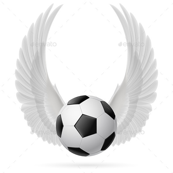Flying Ball - Sports/Activity Conceptual