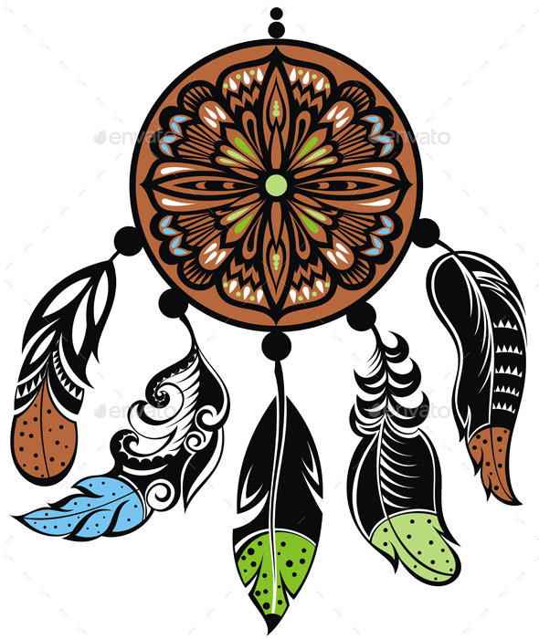 Dream Catcher - Decorative Symbols Decorative