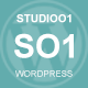 StudioO1 | One Page Multi Purpose WordPress Theme Nulled