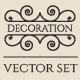 Vector Calligraphic Design Elements - GraphicRiver Item for Sale