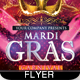 Mardi Gras Carnival Party Flyer - GraphicRiver Item for Sale