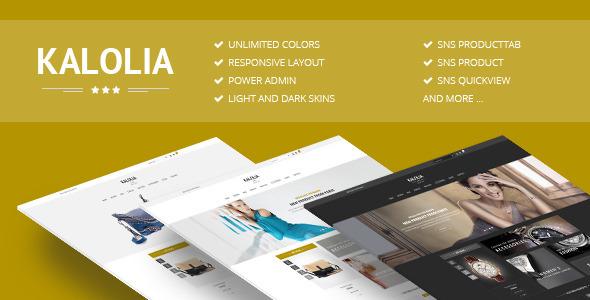 SNS Kalolia – Premium Responsive Magento Theme