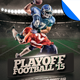 Playoff Football Flyer Template