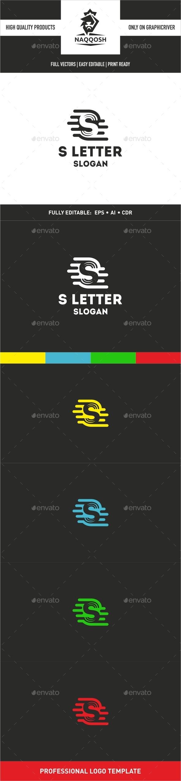 S Letter - Letters Logo Templates
