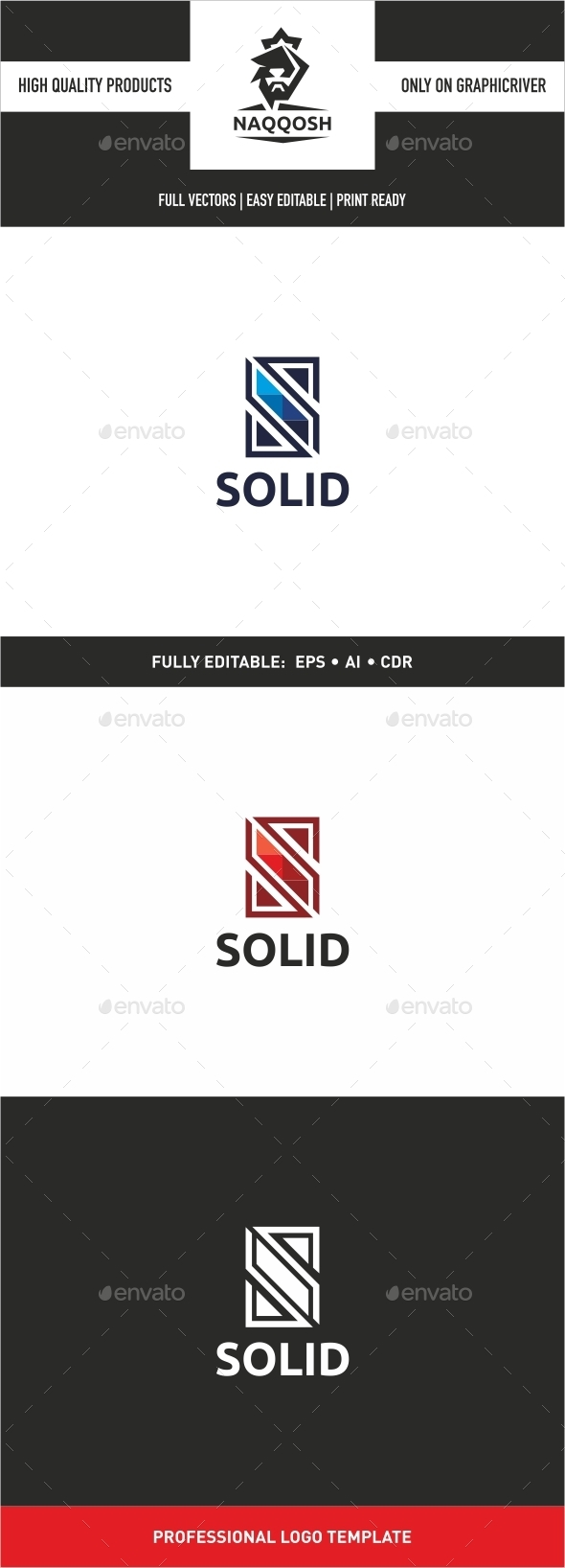 Solid - Letters Logo Templates