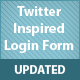 Twitter Inspired Login Form - Jquery - CodeCanyon Item for Sale