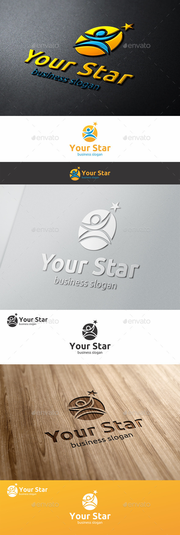Your Star Logo - Successful People