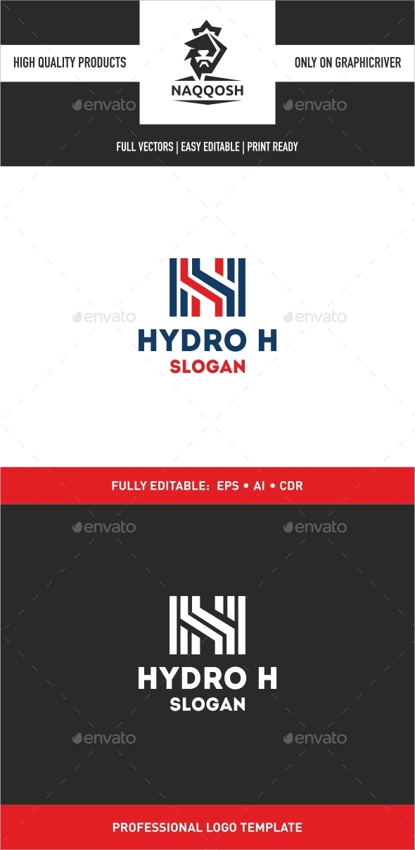 Hydro H - Letters Logo Templates