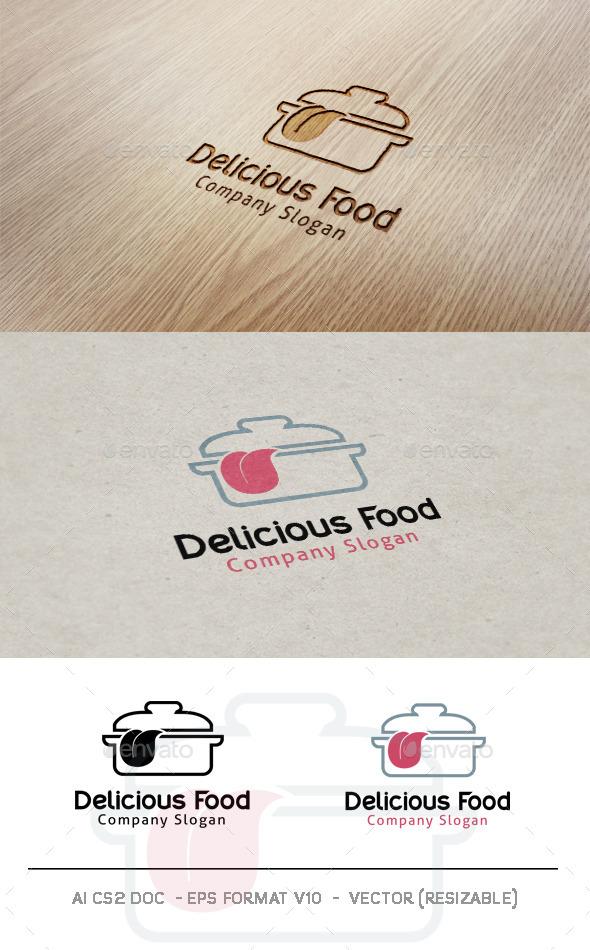 Delicious Food Logo
