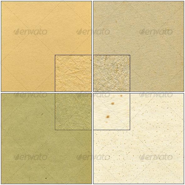 4 paper textures - Paper Textures