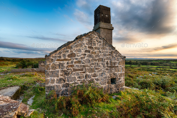 Ruined House - Stock Photo - Images