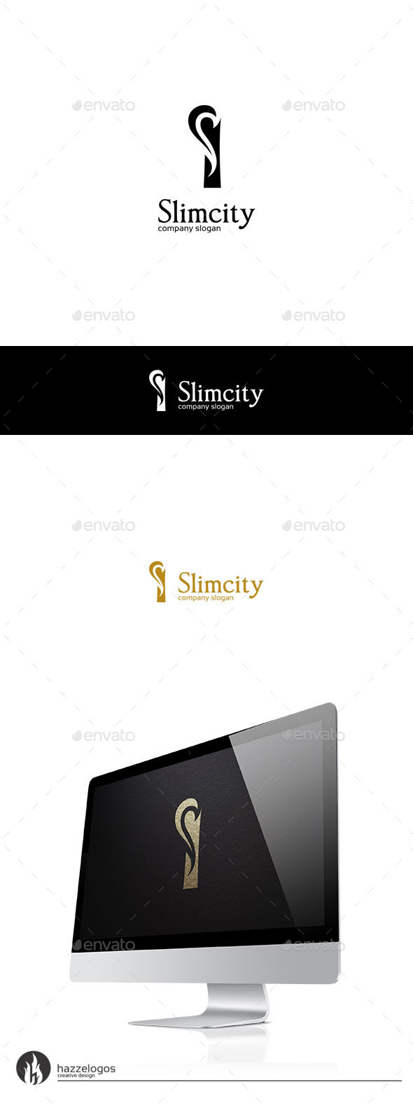 Slimcity - Letter S Logo - Letters Logo Templates
