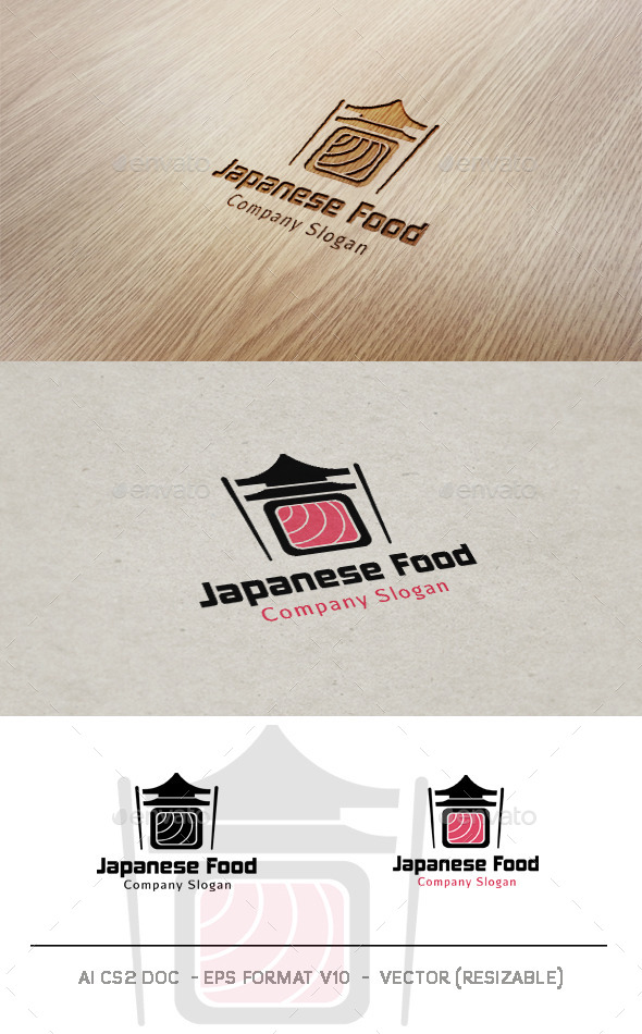 Japanese Food Logo