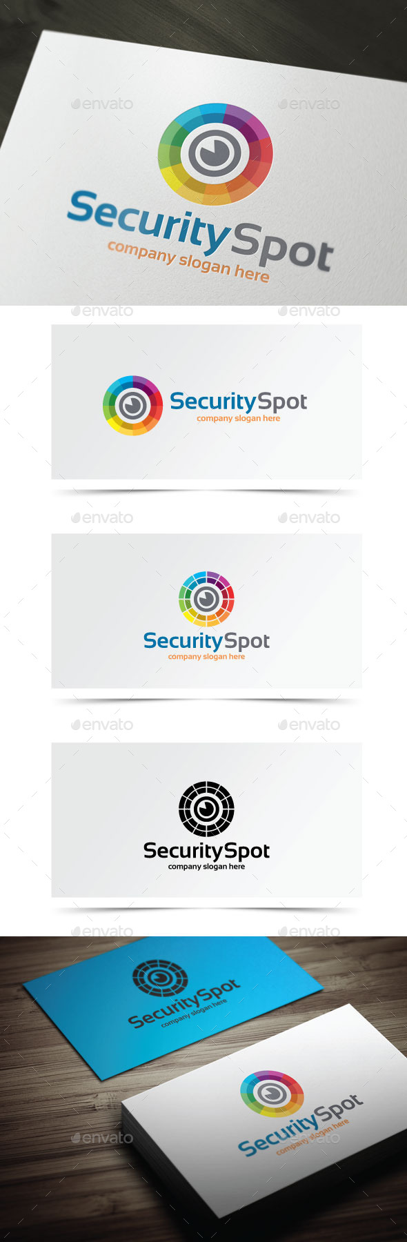 Security Spot - Objects Logo Templates