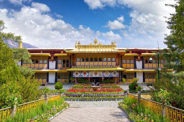 Norbulingka Palace - Stock Photo - Images