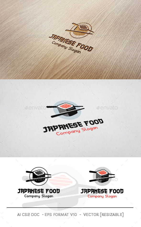 Japanese Food V2 Logo