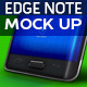 Galaxy Note Edge Mock-Up - GraphicRiver Item for Sale