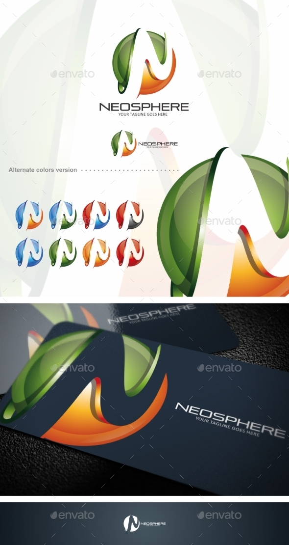 Neosphere / N Letter - Logo Template - Letters Logo Templates