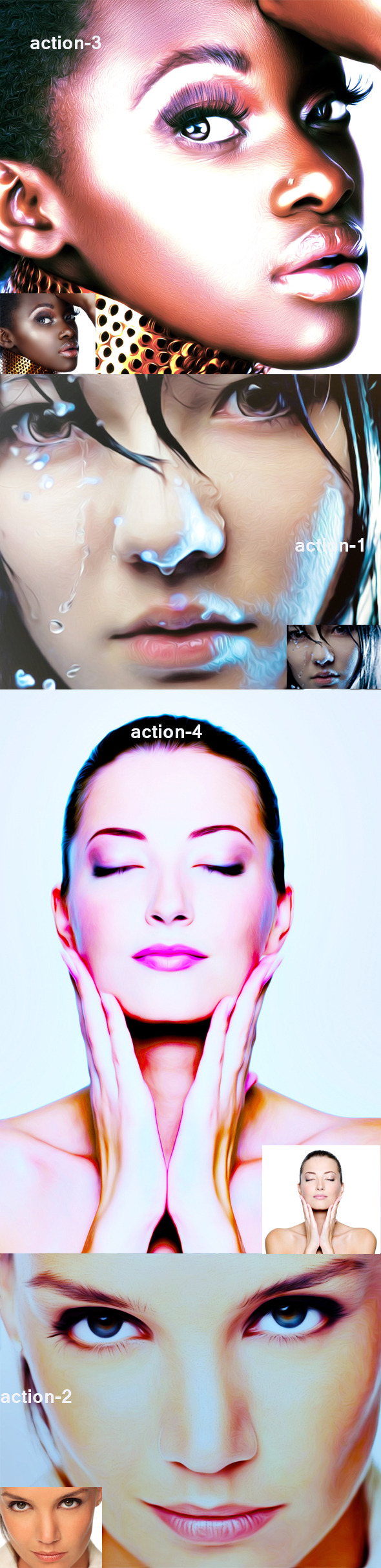 Oil Action 5 - Photo Effects Actions