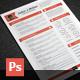 Stars Resume - GraphicRiver Item for Sale