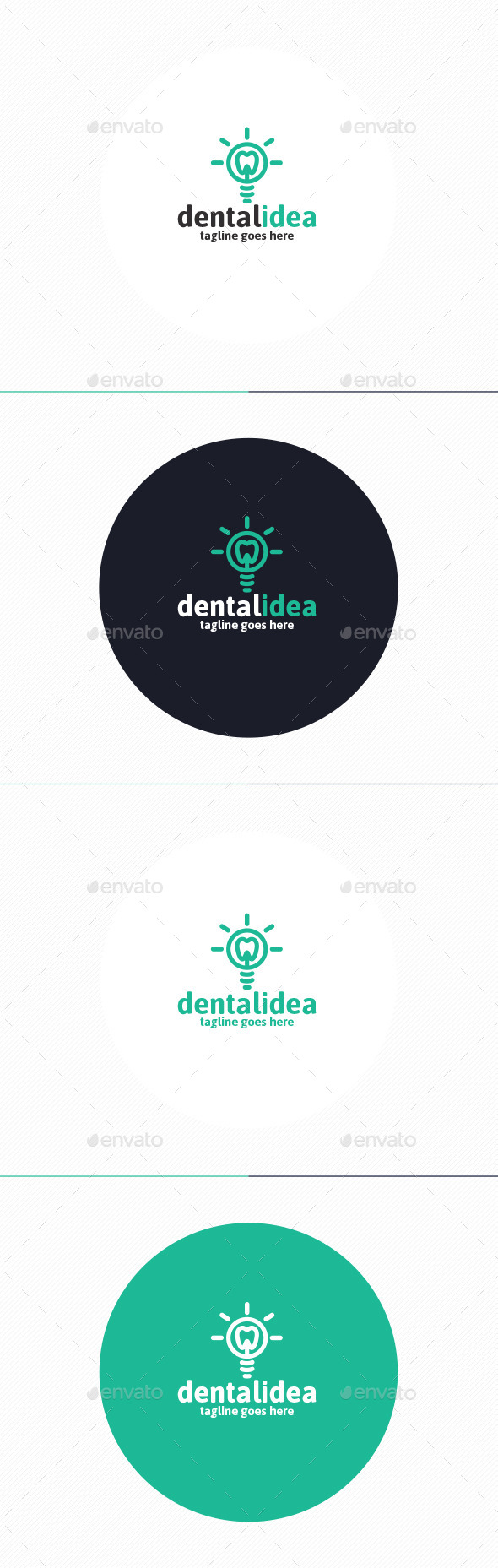 Dental Idea Logo - Objects Logo Templates