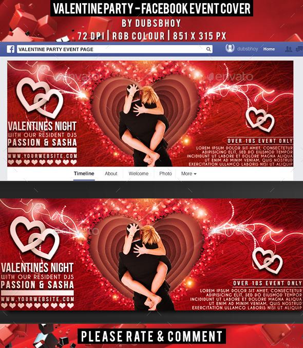 Valentine Facebook Cover - Facebook Timeline Covers Social Media