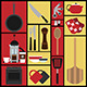 Set of 15 Kitchen Illustrations - GraphicRiver Item for Sale