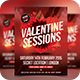 Valentines Sessions / Love / Futuristic Flyer - GraphicRiver Item for Sale