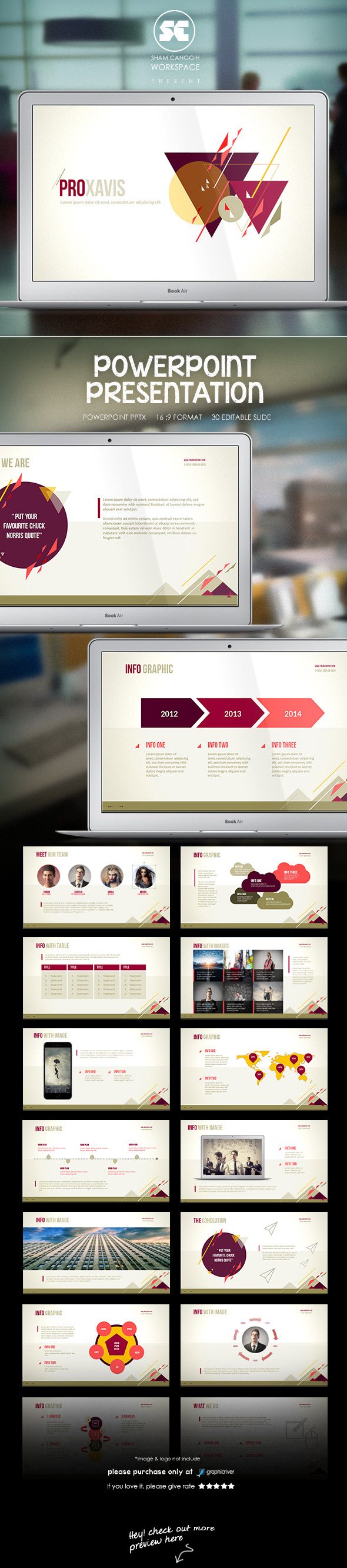 Creative Powerpoint Template - Miscellaneous PowerPoint Templates