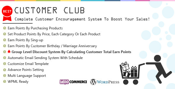 Customer Club : Advanced WooCommerce Point System - CodeCanyon Item for Sale