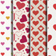 Valentines / Heart Patterns  - GraphicRiver Item for Sale