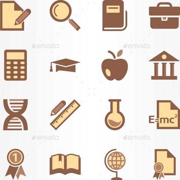 Education Icon - Miscellaneous Icons