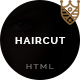 Haircut - Barbershop, Spa, Beauty, Manicure HTML Template Nulled