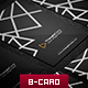 Triangle Business Card - GraphicRiver Item for Sale