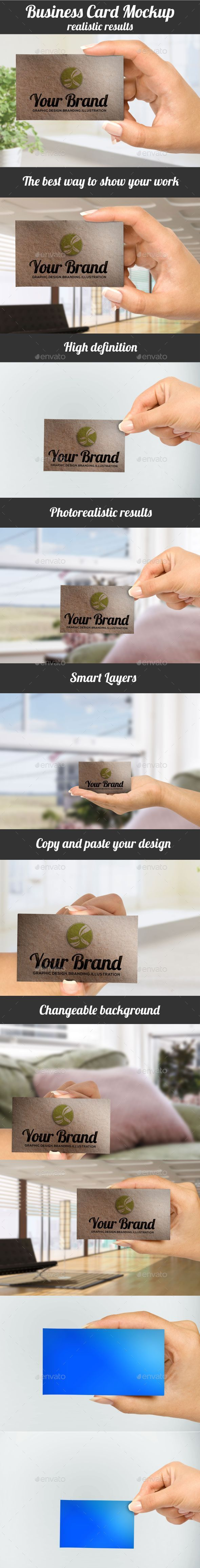 Business Cards Mockup Pack - Business Cards Print