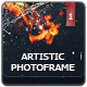 Artistic Photoframe Template V.1 - GraphicRiver Item for Sale