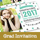 Graduation Invitation - Diamond - GraphicRiver Item for Sale