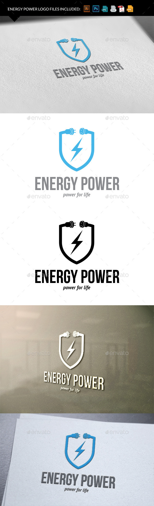 Energy power - Nature Logo Templates