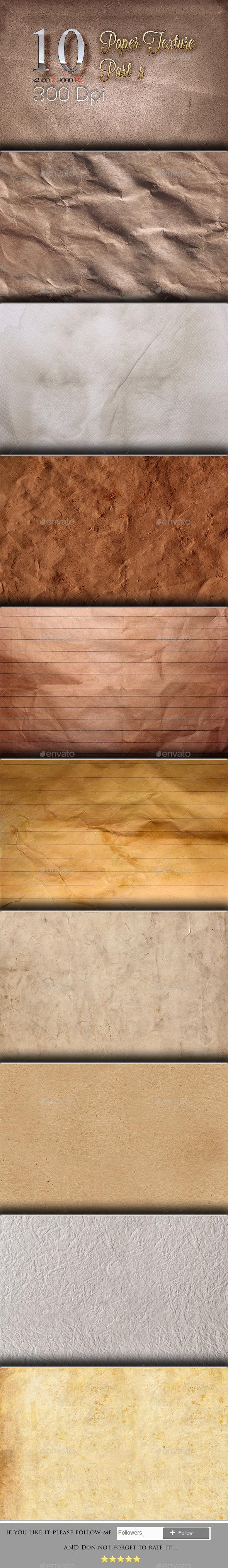 10 Paper Texture Part 5 - Textures
