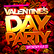Valentines Day Party Flyer - GraphicRiver Item for Sale
